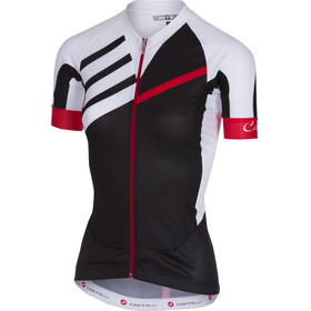 Castelli Aero Race FZ Jersey Women black/white